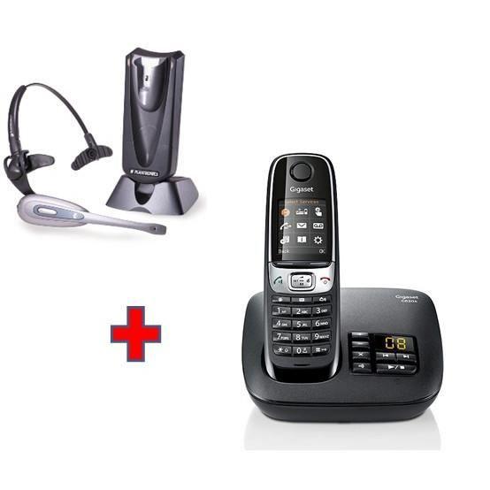 gigaset c620a casque plantronics c65 achat t l phone. Black Bedroom Furniture Sets. Home Design Ideas