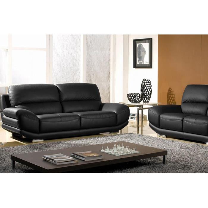 cdiscount salon cuir maison design. Black Bedroom Furniture Sets. Home Design Ideas