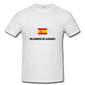 T-SHIRT T-shirt villanueva de algaidas homme et femme unis