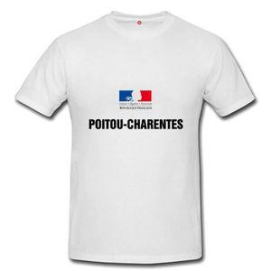 T-SHIRT T-shirt poitou charentes homme et femme unisex