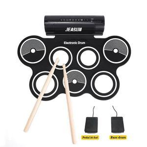 BATTERIE Roll Up Drum Kit Portable Jeasun Batterie électron