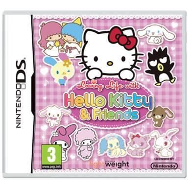 JEUX DS HELLO KITTY LOVING LIFE DS