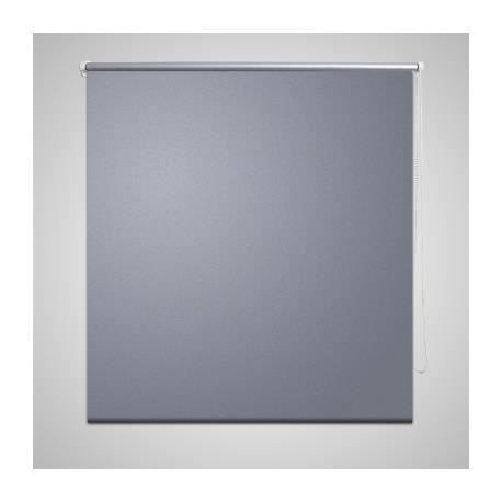 Store enrouleur occultant gris 40 x 100 cm achat vente for Store enrouleur occultant exterieur
