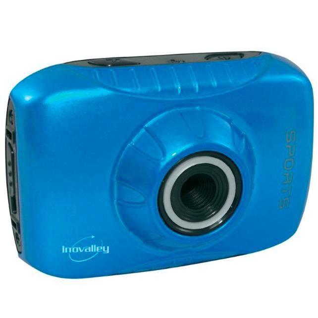 camera sport etanche cam 20 innovalley bleu achat vente appareil photo compact cdiscount. Black Bedroom Furniture Sets. Home Design Ideas