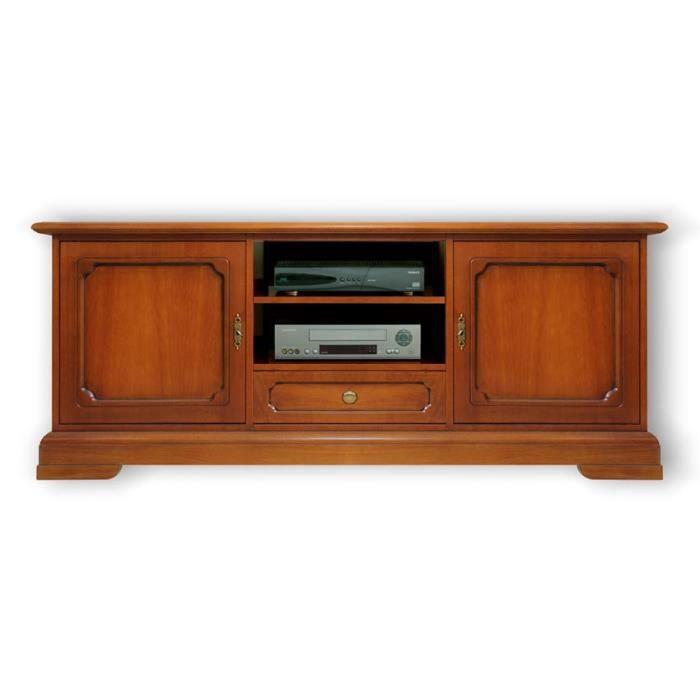 meuble support tv classique 150 cm largeur achat vente meuble tv meuble tv 150 cm largeur. Black Bedroom Furniture Sets. Home Design Ideas