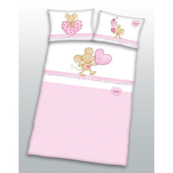 Housse de couette lillebi pour petit lit achat vente for Housse de couette petit lit