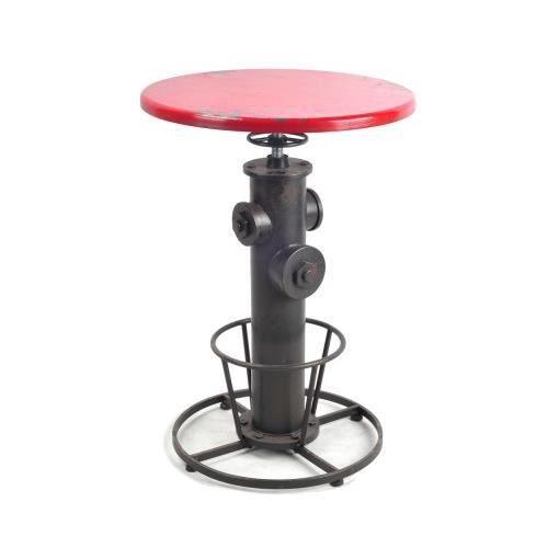 Table de bar rouge new york achat vente mange debout for Table de bar rouge