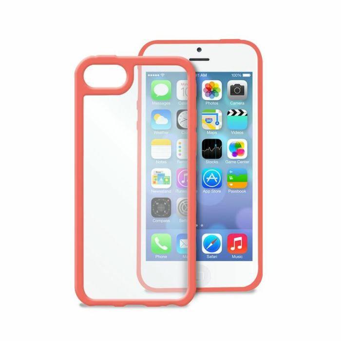 Coque Bumper Apple iPhone 5C Rose u0026quot;Clear Coveru0026quot; Puro - Cette coque ...