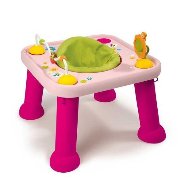 smoby cotoons youpi baby rose achat vente table. Black Bedroom Furniture Sets. Home Design Ideas