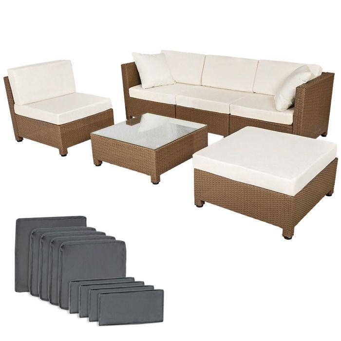 salon de jardin amy 4 chaises fauteuils 1 table et 1. Black Bedroom Furniture Sets. Home Design Ideas