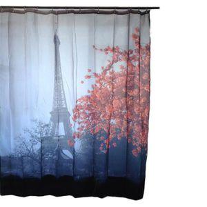 rideaux rouge et noir achat vente rideaux rouge et noir pas cher cdiscount. Black Bedroom Furniture Sets. Home Design Ideas