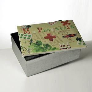 boite metal pharmacie achat vente boite metal pharmacie pas cher cdiscount. Black Bedroom Furniture Sets. Home Design Ideas