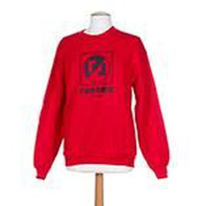 renoma pull rouge col rond femme