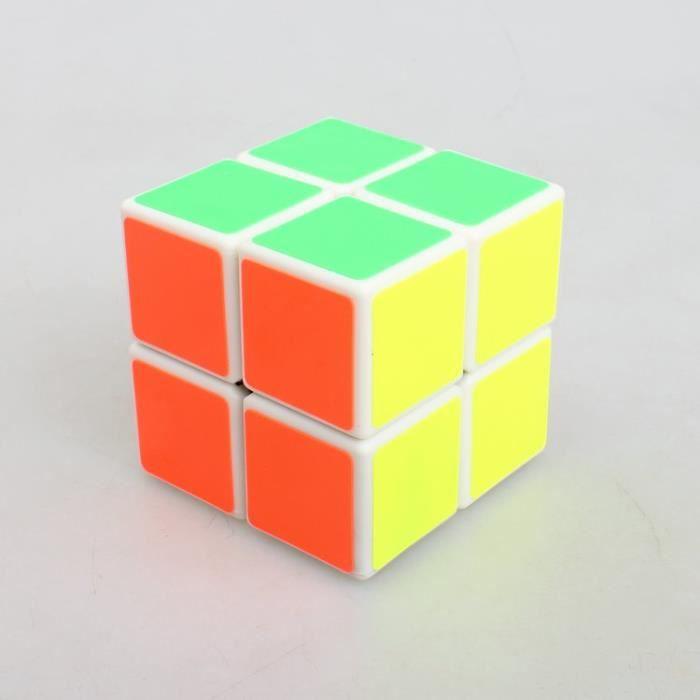 yongjun 2x2 de second ordre rubik cube fond blanc achat vente jeu magie cdiscount. Black Bedroom Furniture Sets. Home Design Ideas