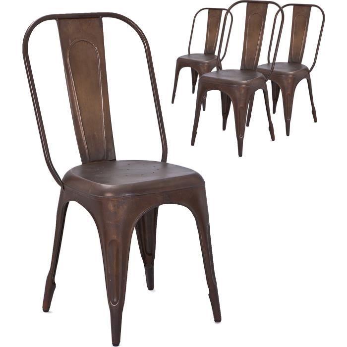 chaises vintage et industrielle - achat / vente chaises vintage et ... - Chaises Industrielles Pas Cher