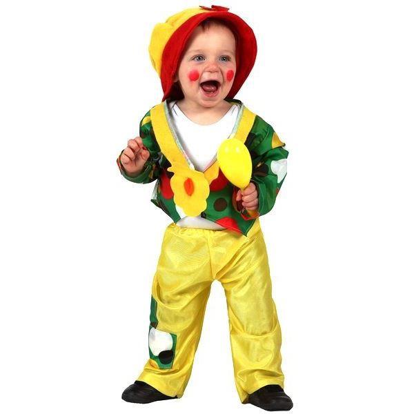Déguisement Clown enfant taille 12 24 mois Costume mixte clown