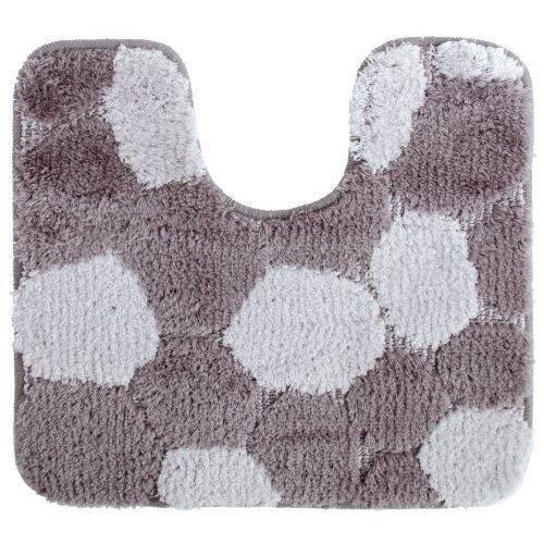 Gelco design 705367 contour de bain zen gris 50 x 45 cm achat vente tapis - Contour de bain acrylique ...