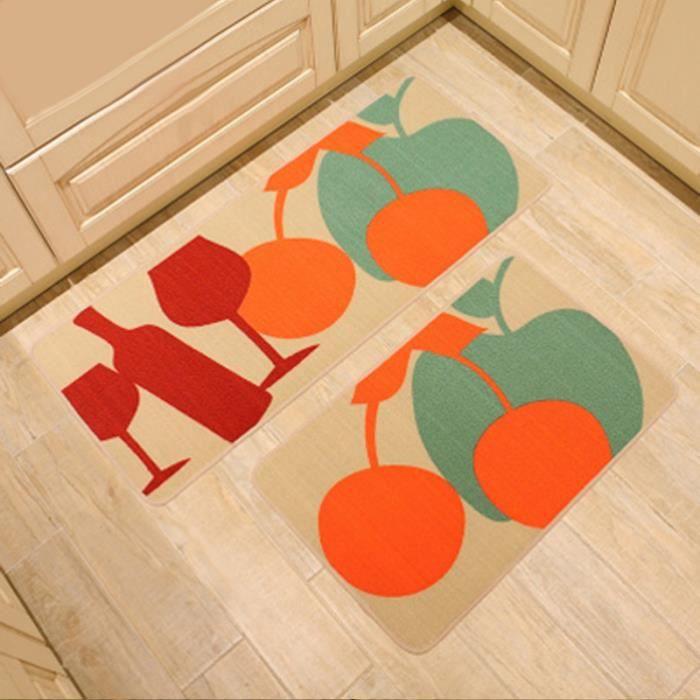 tapis de cuisine devant 233 vier lot 2 tapis passage antid 233 rapant cuisine 50 120cm 50 80cm imprim 233