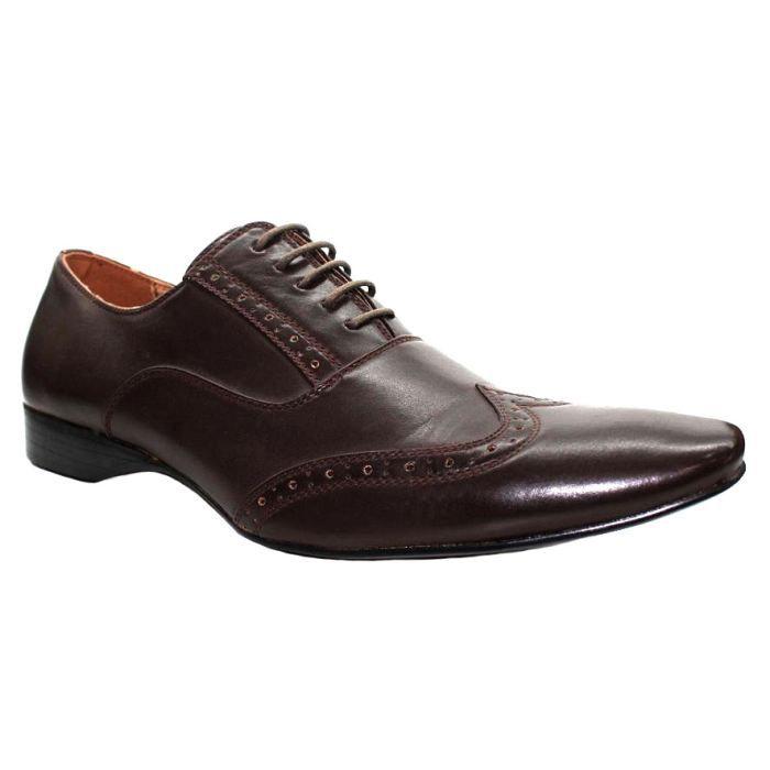 chaussure homme italien marron achat vente richelieu. Black Bedroom Furniture Sets. Home Design Ideas