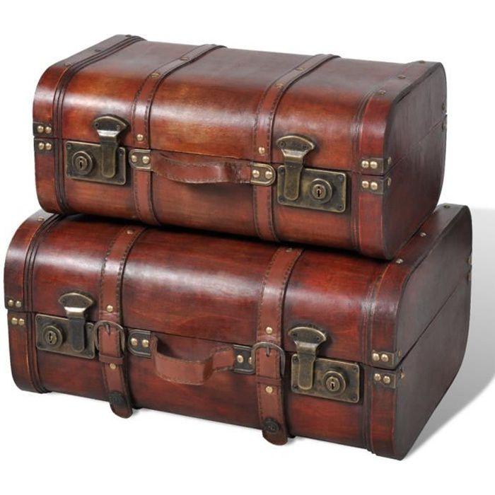 valise vintage achat vente valise vintage pas cher les soldes sur cdiscount cdiscount. Black Bedroom Furniture Sets. Home Design Ideas