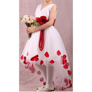 Robe fille mariage achat vente pas cher cdiscount for Fleurs fille robes mariage