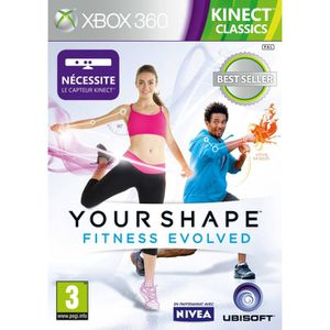 JEUX XBOX 360 YOUR SHAPE FITNESS EVOLVED KINECT RELAUNCH