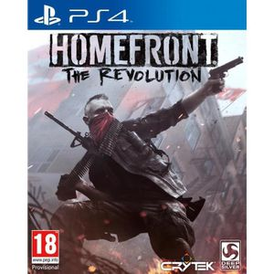 JEU PS4 Homefront : The Revolution First Edition Jeu PS4