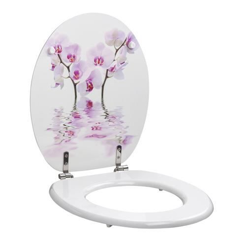 abattant allibert orchid e achat vente abattant wc. Black Bedroom Furniture Sets. Home Design Ideas
