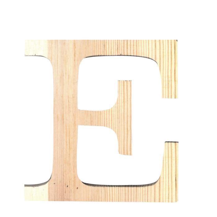 artemio lettre e en bois d coup 19 cm achat vente support d corer lettre e hauteur 19. Black Bedroom Furniture Sets. Home Design Ideas