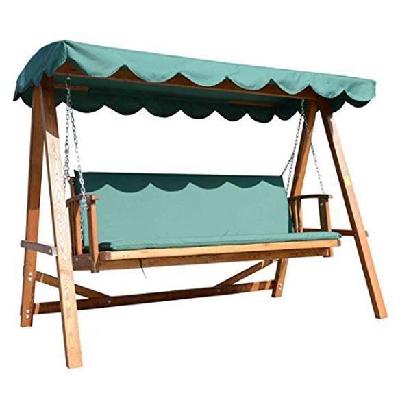 balancelle de jardin 4 places bali convertible en lit achat vente balancelle balancelle de. Black Bedroom Furniture Sets. Home Design Ideas