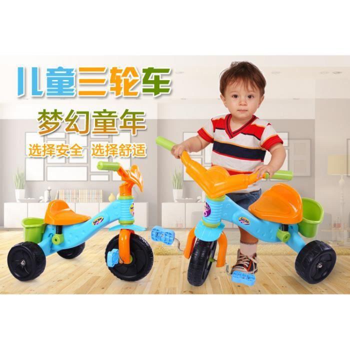 tricycle enfants plastqiue abs prix pas cher cdiscount. Black Bedroom Furniture Sets. Home Design Ideas