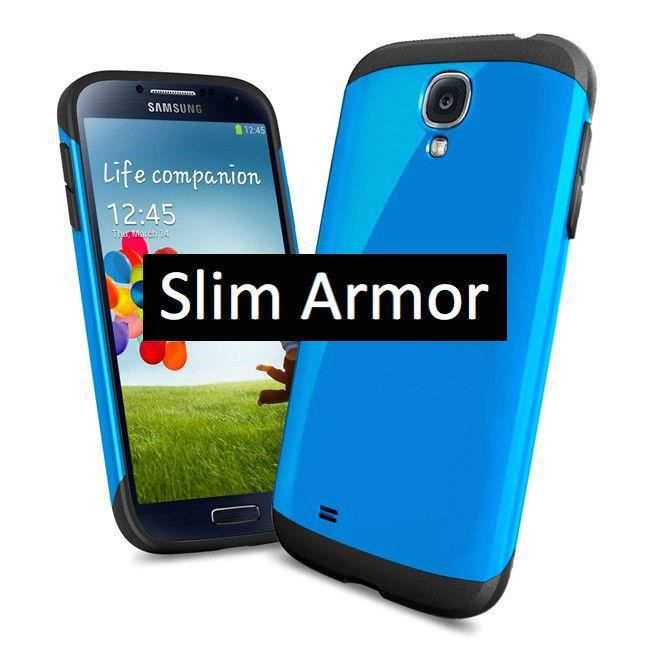 coque slim armor pour samsung galaxy s4 mini couleur bleu. Black Bedroom Furniture Sets. Home Design Ideas