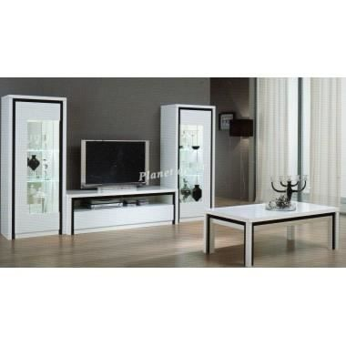 ensemble meuble tv plasma colonne table basse achat. Black Bedroom Furniture Sets. Home Design Ideas
