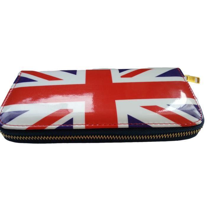 portefeuille porte monnaie drapeau anglais union j achat vente portefeuille 9096090009673. Black Bedroom Furniture Sets. Home Design Ideas