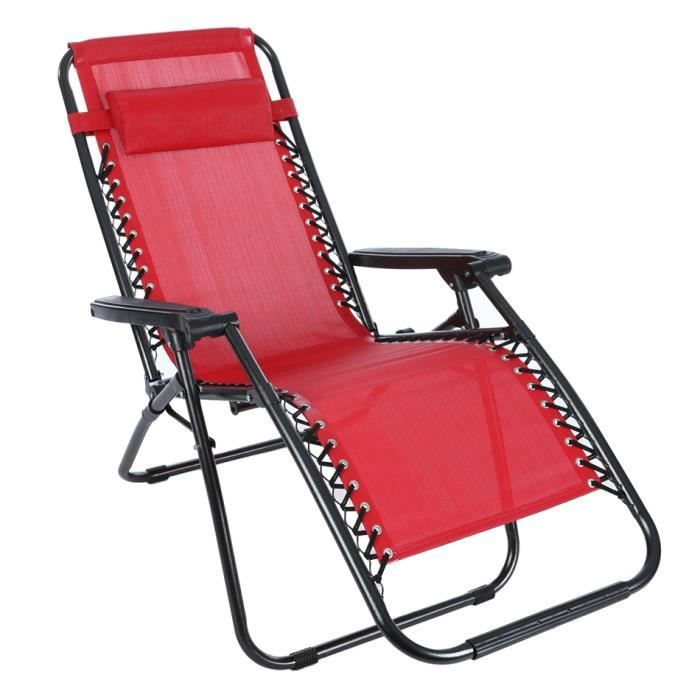 chaises longues pliantes achat vente chaises longues pliantes pas cher les soldes sur. Black Bedroom Furniture Sets. Home Design Ideas
