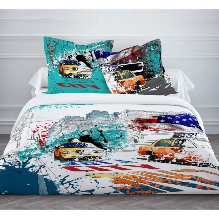 housse de couette 220x240 enfant achat vente housse de couette 220x240 en. Black Bedroom Furniture Sets. Home Design Ideas