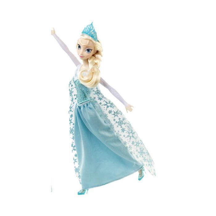 Mce la reine des neiges elsa chanteuse barbie achat - Barbie chanteuse ...
