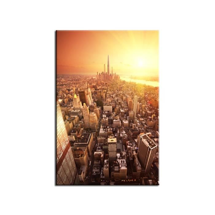 Tableau design future new york achat vente tableau for Tableau toile new york