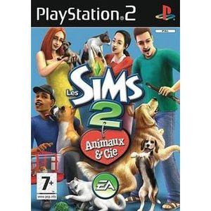 JEU PS2 LES SIMS 2 ANIMAUX ET CIE PLATINIUM / PS2