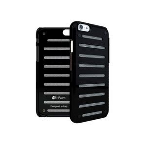 I PAINT Coque métal iPhone 6 6S Noir