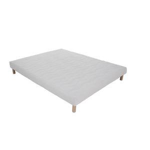 lit 120x190 avec sommier achat vente lit 120x190 avec sommier pas cher cdiscount. Black Bedroom Furniture Sets. Home Design Ideas