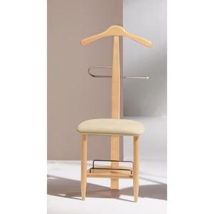 chaise valet de nuit achat vente chaise valet de nuit pas cher cdiscount. Black Bedroom Furniture Sets. Home Design Ideas