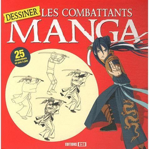 MANGA  Dessiner les combattants manga