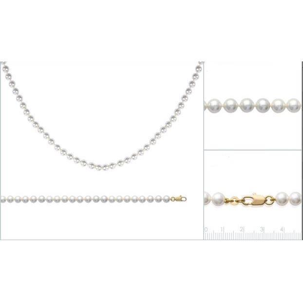 parure collier et bracelet perle de majorque plaqu or. Black Bedroom Furniture Sets. Home Design Ideas