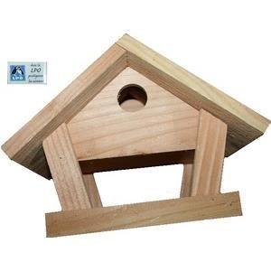 nichoir mangeoire oiseaux en bois mod le m sange achat vente mangeoire tr mie nichoir. Black Bedroom Furniture Sets. Home Design Ideas
