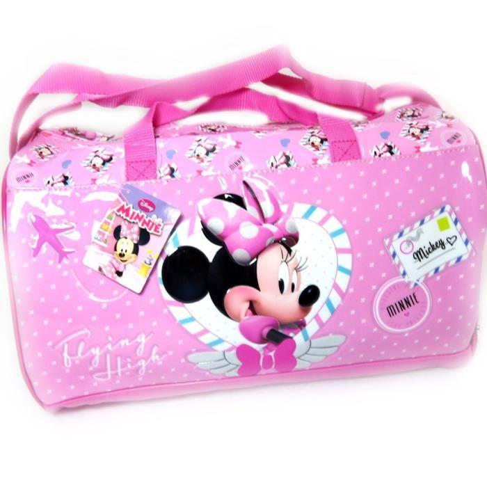 sac de voyage enfant minnie rose 38 cm rose achat vente sac de voyage sac de voyage. Black Bedroom Furniture Sets. Home Design Ideas
