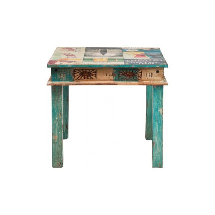 Ipanema by kare table 85x85cm achat vente table a for Cie 85 table 4