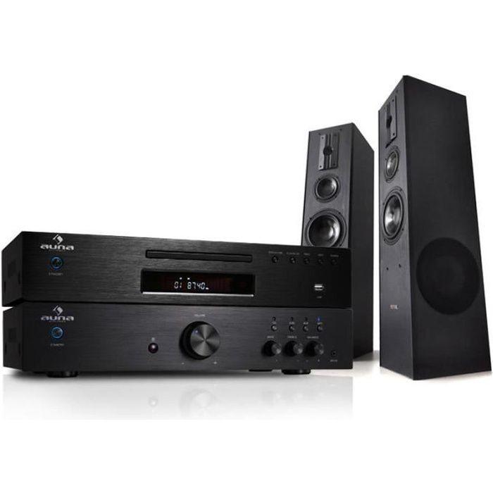 syst me hifi ampli 600w lecteur cd mp3 amplificateur. Black Bedroom Furniture Sets. Home Design Ideas