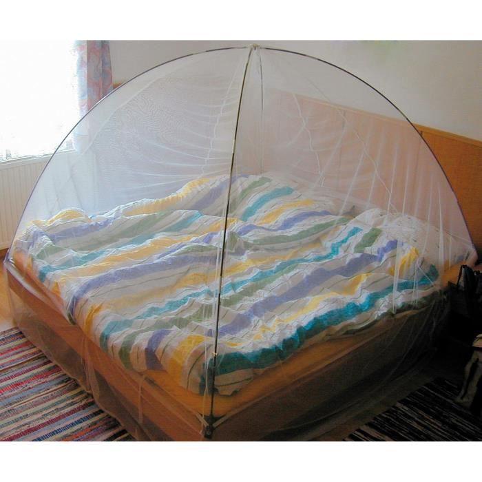 moustiquaire pour lit double parfait pour les vacances. Black Bedroom Furniture Sets. Home Design Ideas