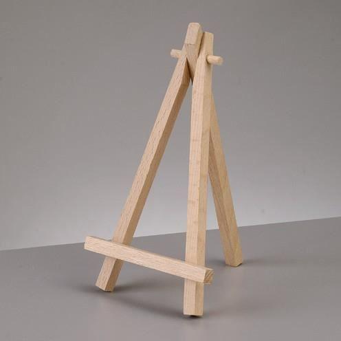 Mini chevalet de table en bois de h tre tr pie achat vente marque place soldes d t Mini chevalet de table